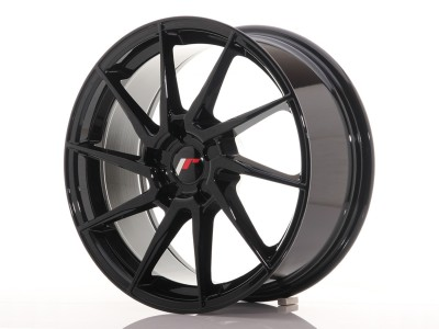 JapanRacing JR36 Gloss Black Alufelni