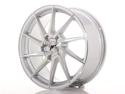 JapanRacing JR36 Silver Brushed Wheel