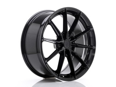 JapanRacing JR37 Gloss Black Wheel