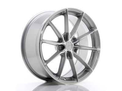 JapanRacing JR37 Silver Machined Face Wheel