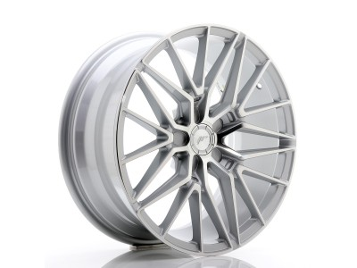 JapanRacing JR38 Silver Machined Face Wheel