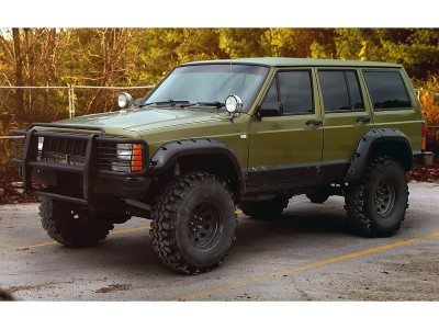 Jeep Cherokee XJ - body kit, front bumper, rear bumper, side skirts
