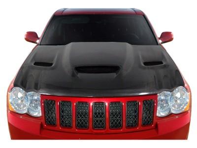 Jeep Grand Cherokee WK Capota Hellcat-Look Fibra De Carbon