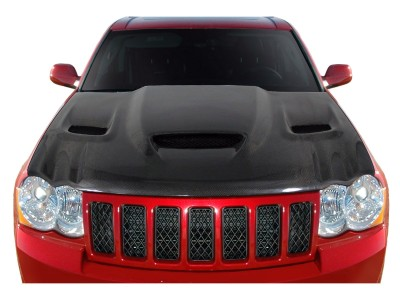 Jeep Grand Cherokee WK Hellcat-Look Carbon Motorhaube