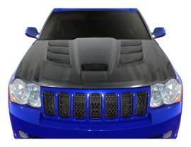 Jeep Grand Cherokee WK Viper-Look Carbon Fiber Hood
