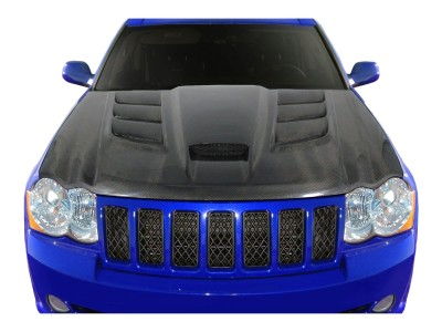 Jeep Grand Cherokee WK Viper-Look Carbon Fiber Hood