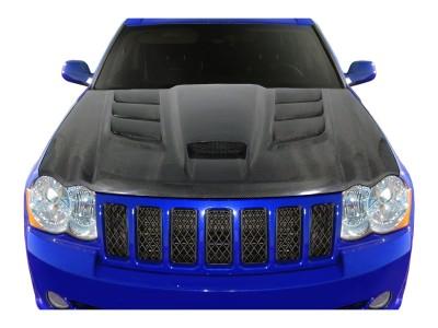 Jeep Grand Cherokee WK Viper-Look Carbon Motorhaube