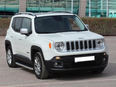 Jeep Renegade BU Helios Running Boards