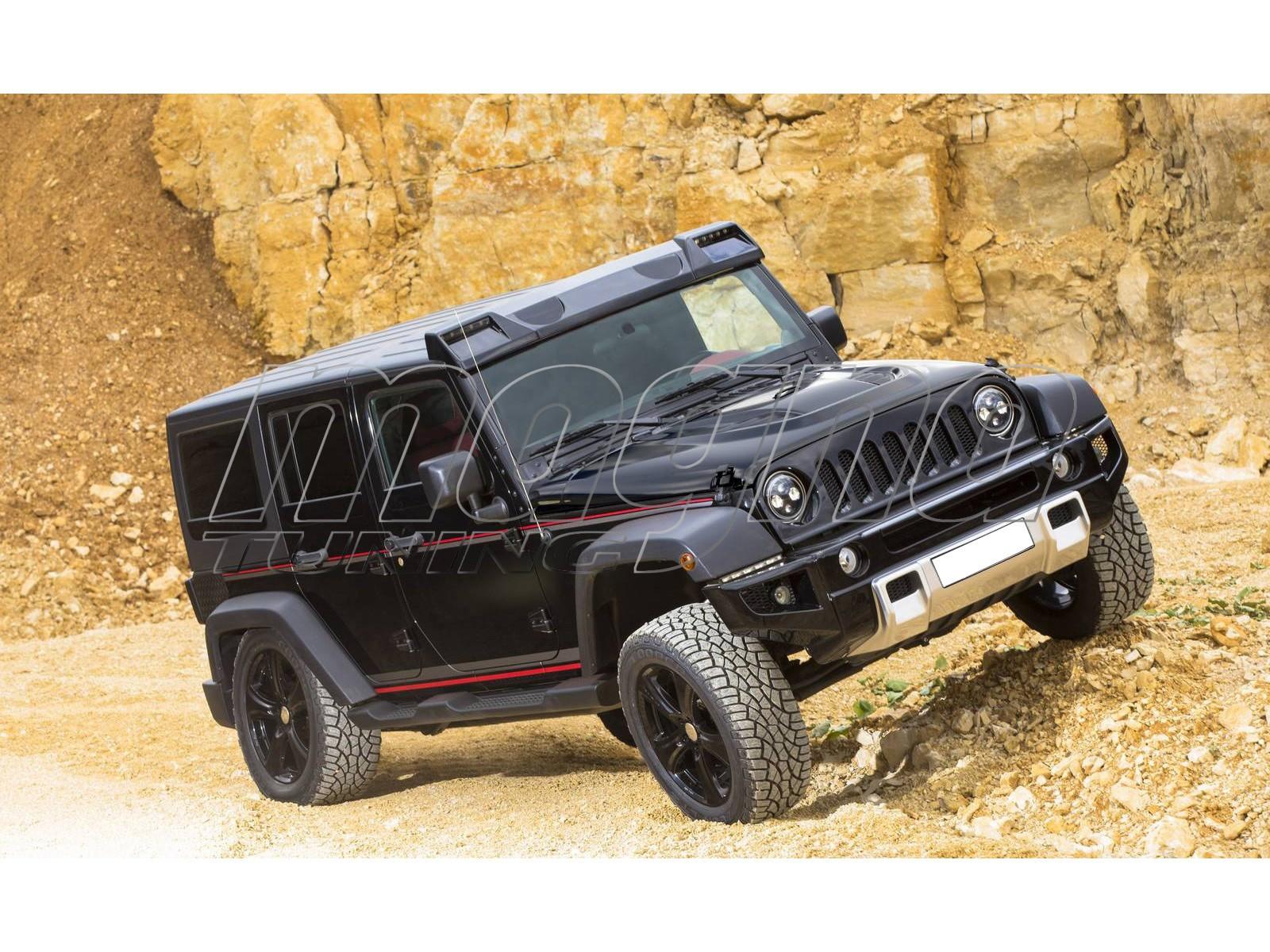 Jeep Wrangler Jk H3 Style Body Kit