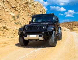 Jeep Wrangler JK H3-Style Body Kit