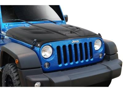 Jeep Wrangler JK Viper-Look Carbon Motorhaube