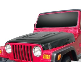 Jeep Wrangler JK Volcano Carbon Fiber Hood