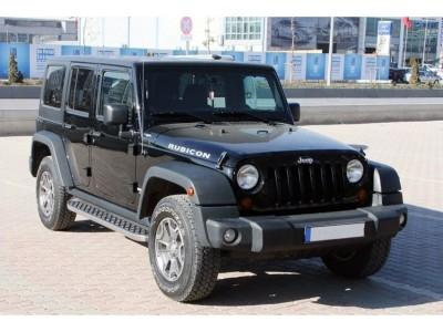 Jeep Wrangler TJ Unlimited Helios Trittbretter