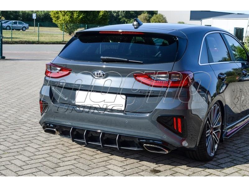 Kia Ceed CD GT Invido Rear Bumper Extension
