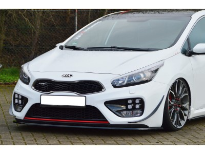 Kia Ceed MK2 GT Intenso Front Bumper Extension