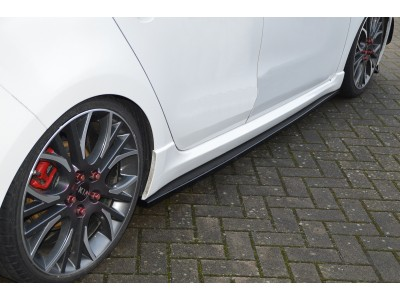 Kia Ceed MK2 GT Intenso Side Skirt Extensions
