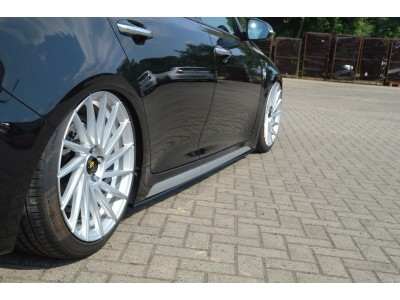 Kia Optima JF Intenso Side Skirt Extensions