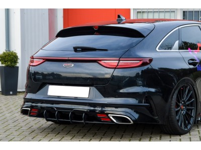 Kia Proceed CD GT Intenso Rear Bumper Extension