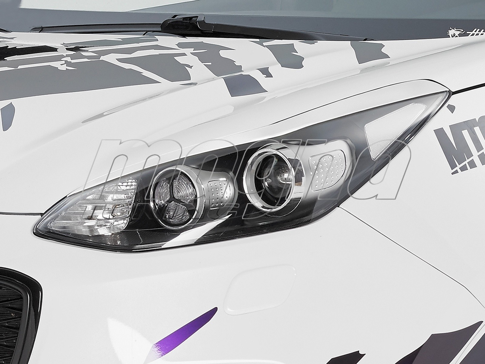 Kia Sportage QL CX Eyebrows
