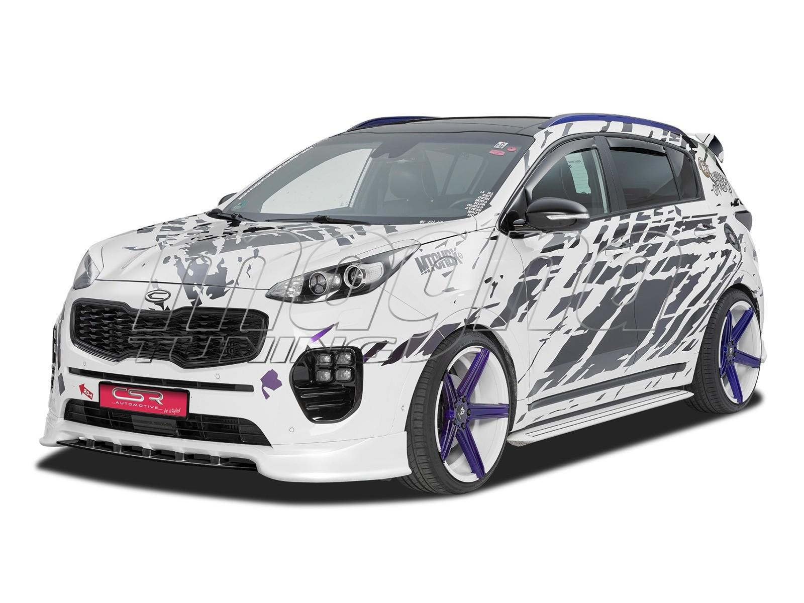 Kia Sportage QL CX Front Bumper Extension