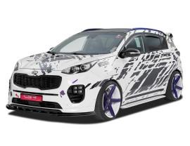 Kia Sportage QL Crono Front Bumper Extension