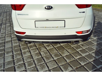Kia Sportage QL MX Rear Bumper Extension