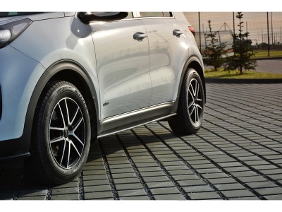 Kia Sportage QL MX Side Skirt Extensions