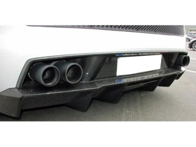 Lamborghini Gallardo Superleggera-Style Carbon Fiber Rear Bumper Extension