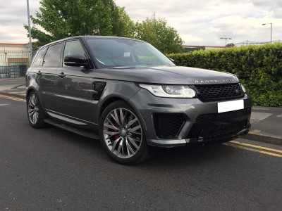 Land Rover Range Rover Sport MK2 SVR-Design Wide Body Kit