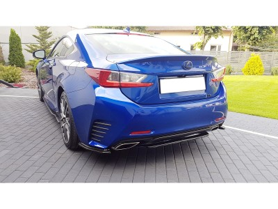 Lexus RC Matrix Rear Bumper Extension