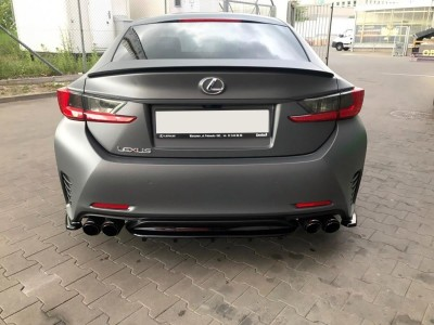 Lexus RC Matrix Rear Wing Extension