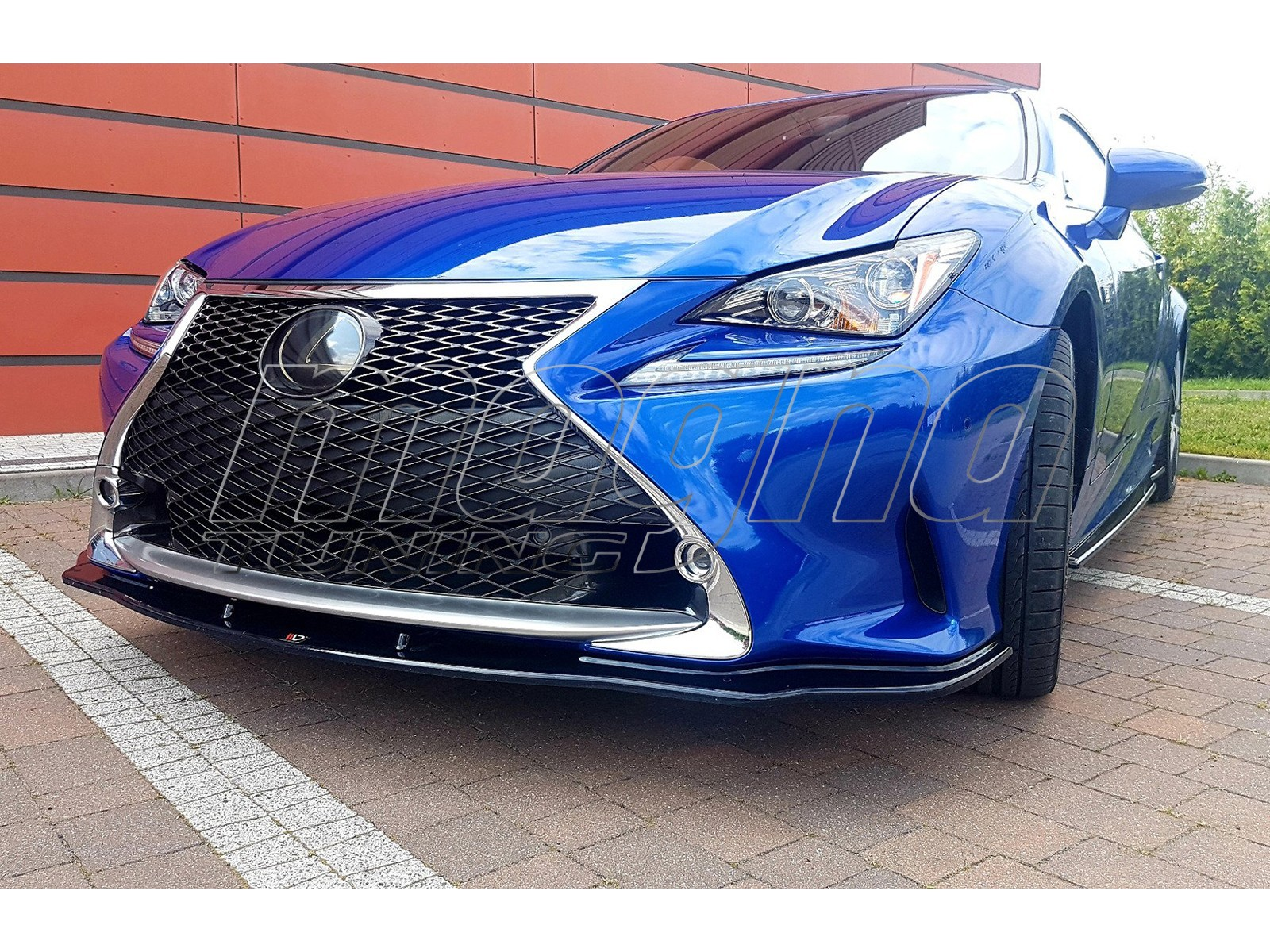 Lexus RC Matrix2 Front Bumper Extension