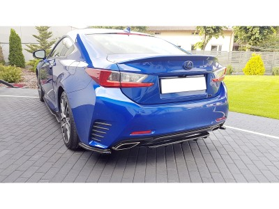 Lexus RC Matrix2 Rear Bumper Extension