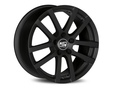 MSW All Season MSW 22 Matt Black Wheel