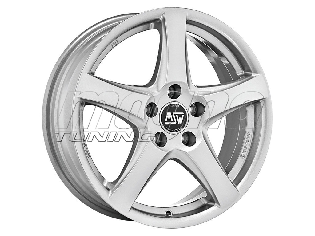 MSW All Season MSW 78 Full Silver Wheel