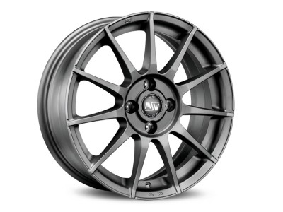 MSW All Season MSW 85 Matt Gun Metal Wheel