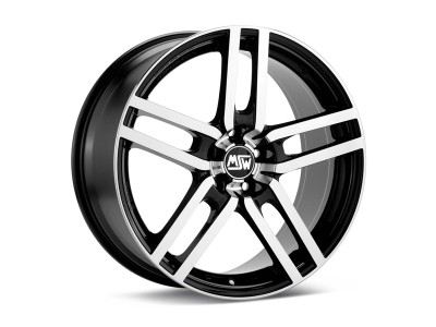 MSW Avantgarde MSW 11 Black Diamond Cut Wheel