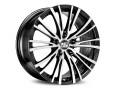 MSW Avantgarde MSW 20-5 Matt Black Full Polished Wheel