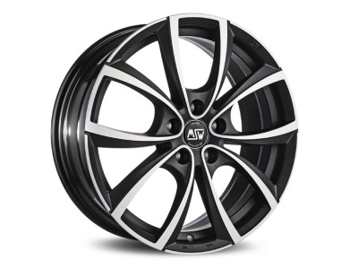 MSW Avantgarde MSW 27 Matt Dark Titanium Full Polished Wheel