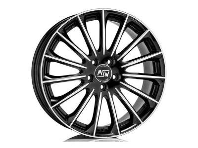 MSW Avantgarde MSW 30 Gloss Black Full Polished Wheel