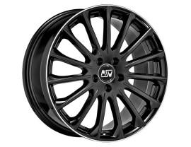 MSW Avantgarde MSW 30 Gloss Black Polished Lip Wheel