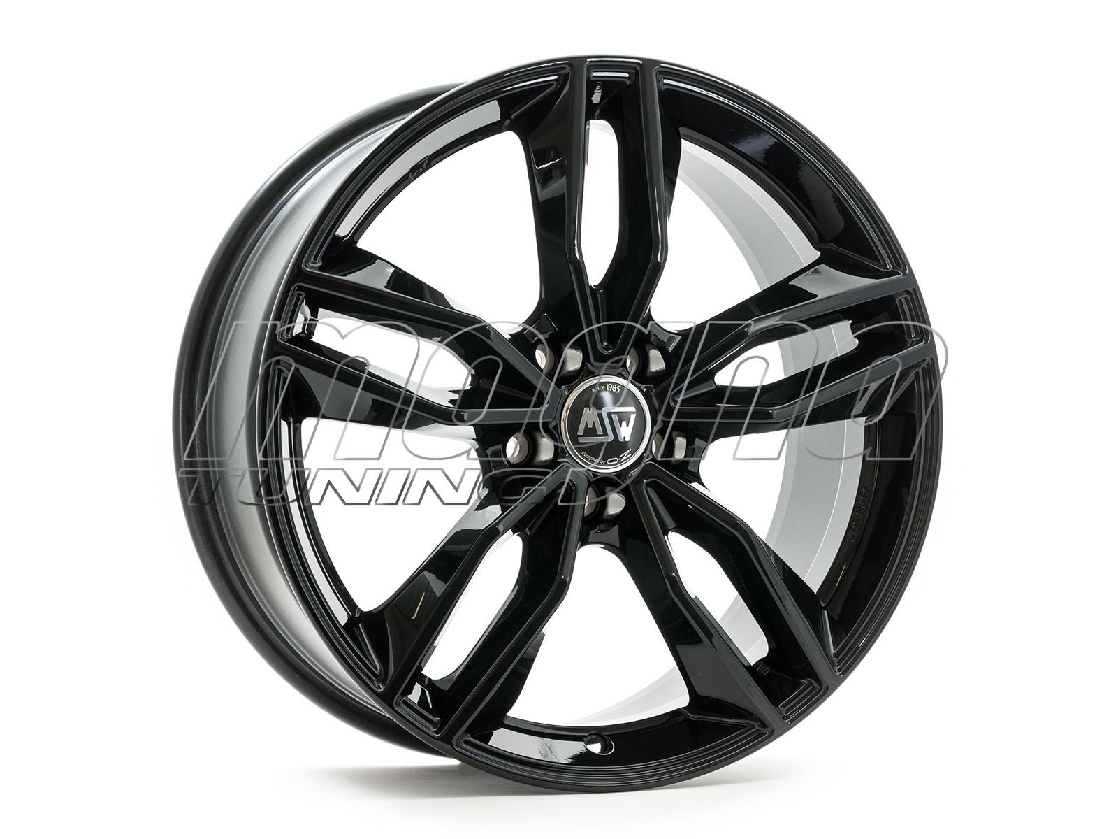 MSW Avantgarde MSW 71 Gloss Black Wheel