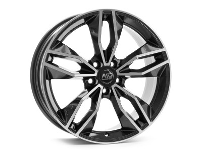 MSW Avantgarde MSW 71 Gloss Dark Grey Full Polished Wheel