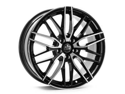 MSW Avantgarde MSW 72 Gloss Black Full Polished Wheel