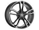 MSW Avantgarde MSW 72 Gloss Dark Grey Full Polished Wheel