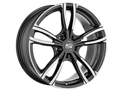 MSW Avantgarde MSW 73 Gloss Dark Grey Full Polished Wheel
