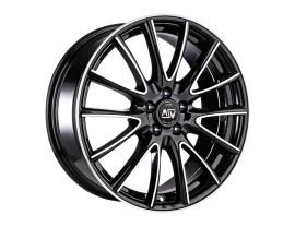 MSW Avantgarde MSW 86 Black Full Polished Wheel
