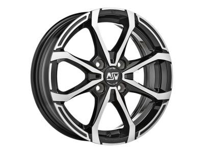 MSW Avantgarde MSW X4 Matt Black Full Polished Wheel