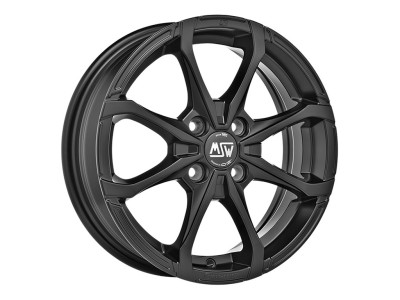 MSW Avantgarde MSW X4 Matt Black Wheel