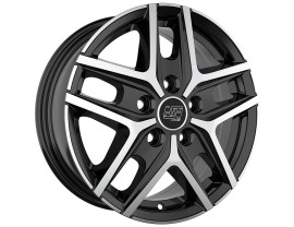 MSW Off-Road MSW 40 Gloss Black Full Polished Wheel